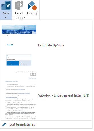 how to delete word template
